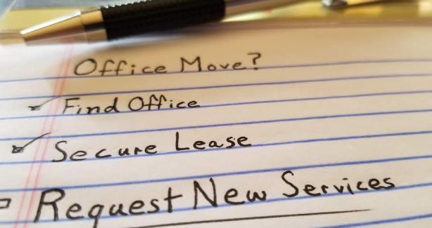 Office move checklist image