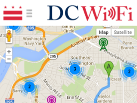 Find Public Hotspots with DC WiFi App