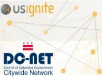 US Ignite and DC-Net logos